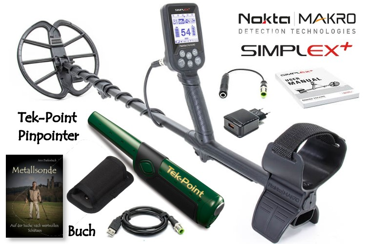 Simplex+ Metalldetektor